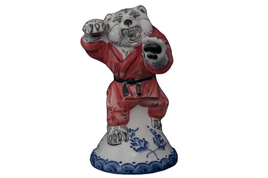 Скульптурка медведь (цвет)