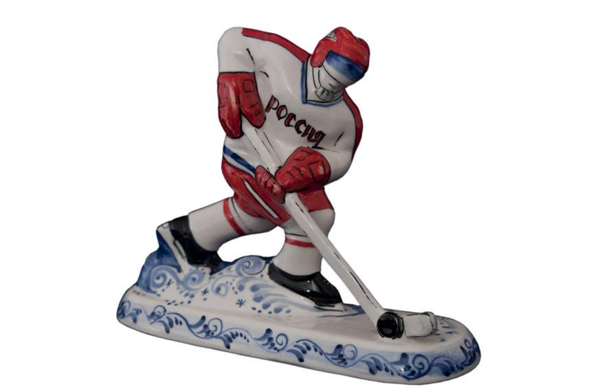 Скульптуркахоккейный игрок(цвет)