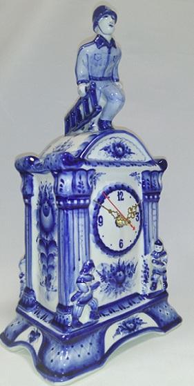 Часы Пожарно-прикладной спорт синие