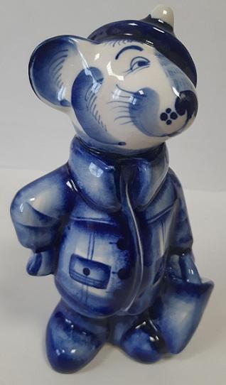 Скульптура Крыса пожарный